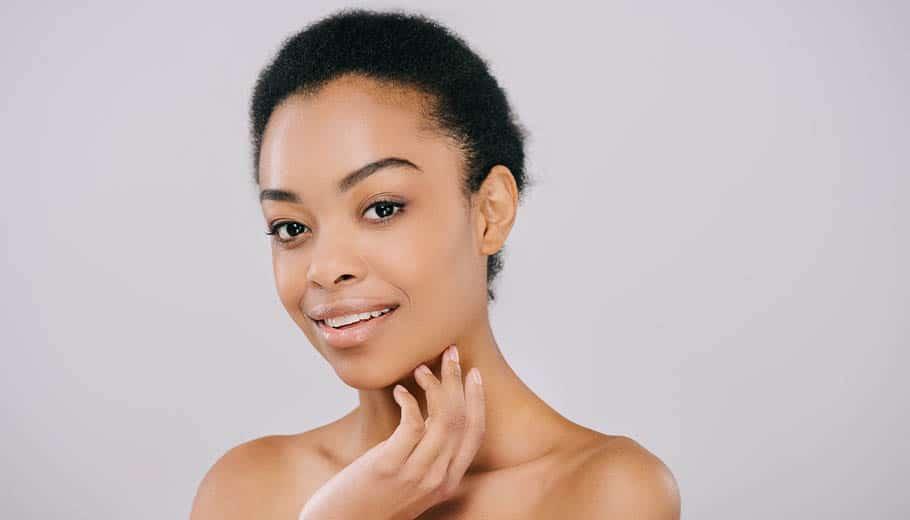 Female Model *Not an actual patient | Knott Street Dermatology | skin cancer treatment | Portland Oregon