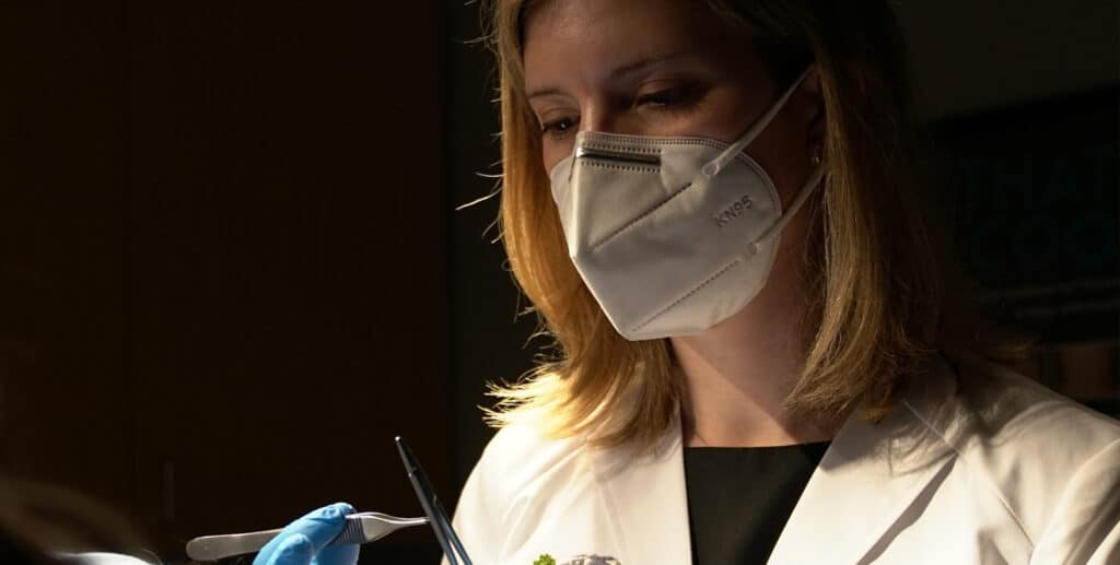 KSD Surgeon doing cosmetic mole removal | Knott Street Dermatology | Skin Tag Removal | Portland Oregon